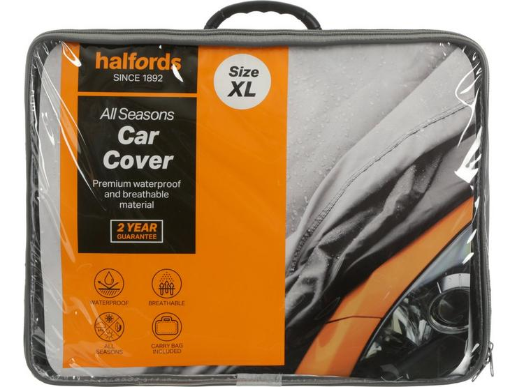 Halfords All Seasons Car Cover XL