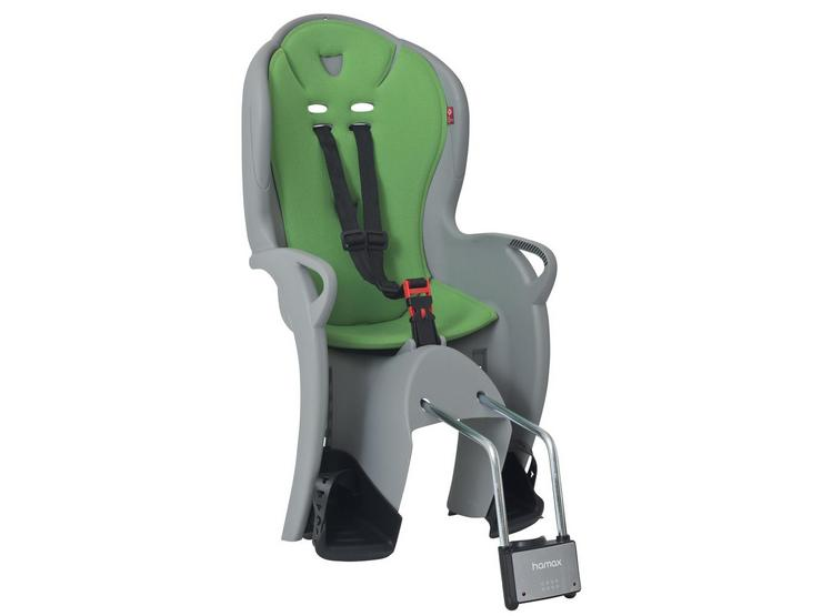 Hamax Kiss Rear Frame Seat - Grey/Green
