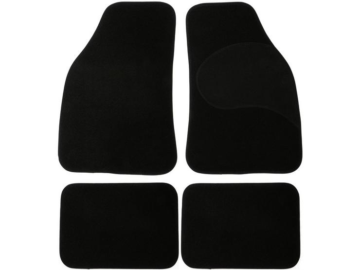 Halfords Carpet Car Mats in Black