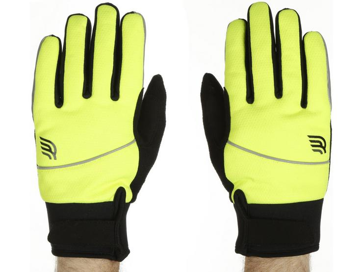 Ridge Thermal Gel Gloves Fluro