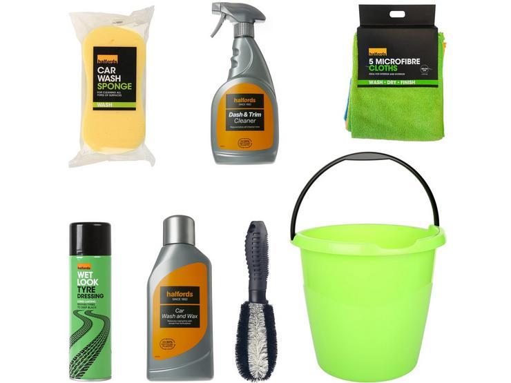 Halfords Spring Clean Bucket Bundle