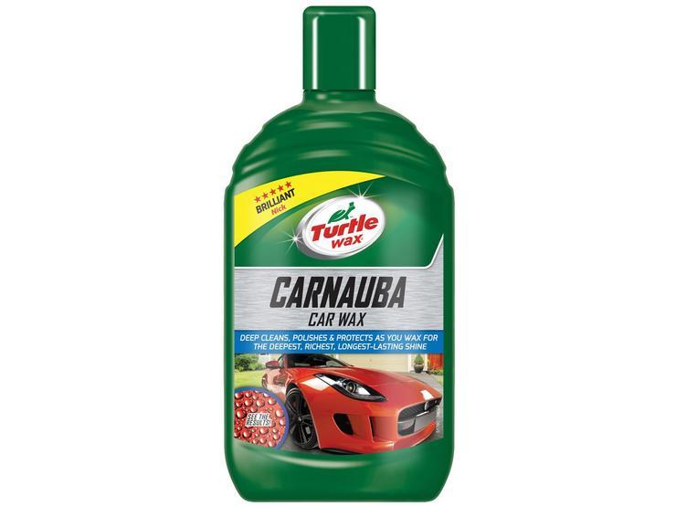 Turtle Wax Carnuaba Liquid Car Wax 500ML
