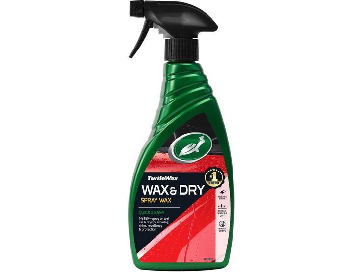 Turtle Wax - Wax it Wet Spray Wax 500ML