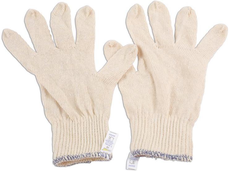 Laser Cotton Underliner Gloves 10 Pack