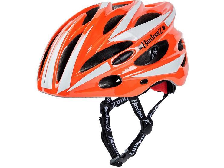 HardnutZ Hi Vis Orange Road Bike Helmet - 54-62cm