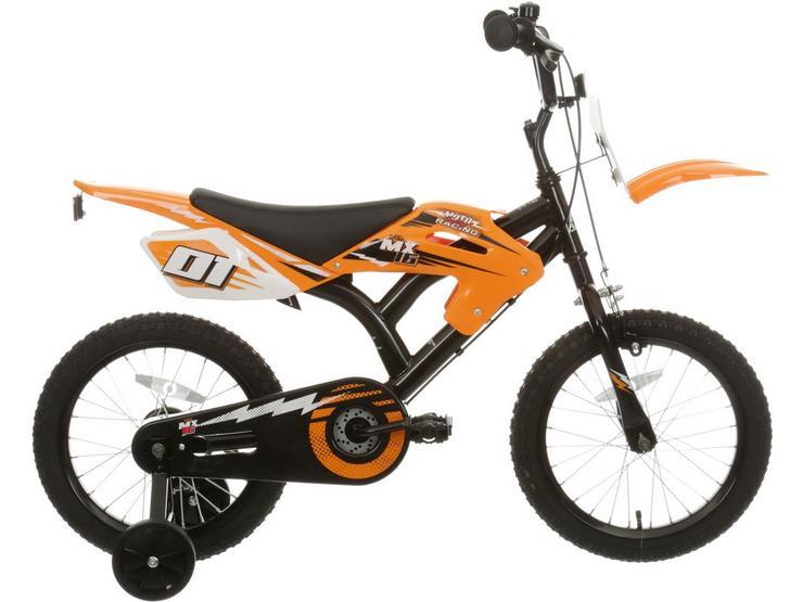 "Motobike MX16 Kids Bike - 16"" Wheel"