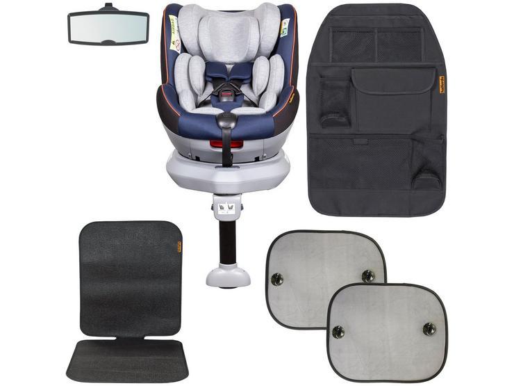 Halfords 0/1 i-Size Revolve Car Seat Bundle