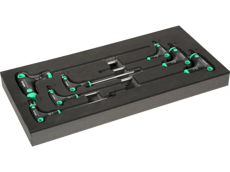 Halfords Advanced 7 Piece T-Handle Torx Set Modular Tray
