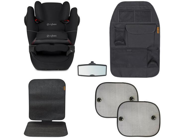 Cybex Pallas M-Fix SL Car Seat Bundle