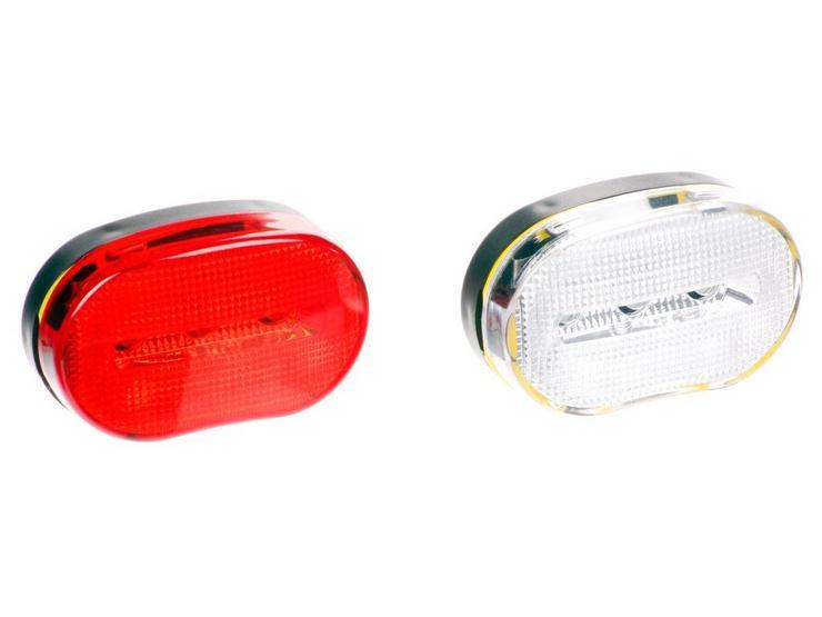 Halfords 3 LED Bike Light Set
