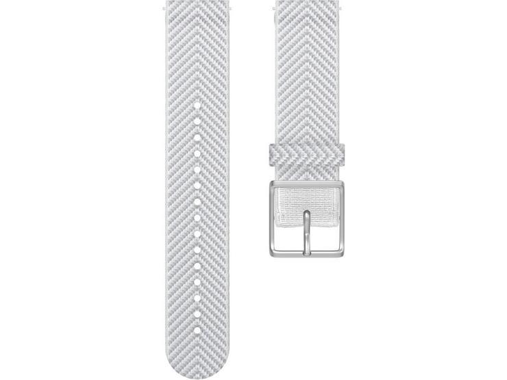 Polar Ignite Fabric Wrist Band, White Chevron - Large