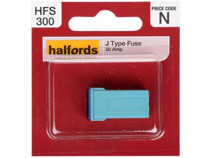 Halfords J Type Slow Blow Fuse 20AMP