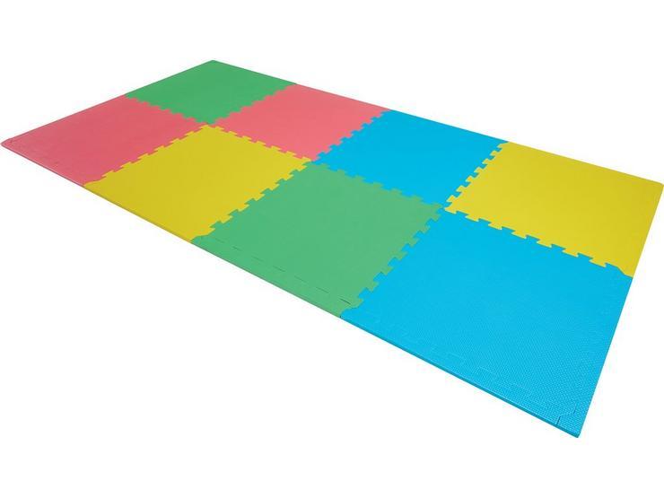Halfords 8pc Coloured Floor Mat Set - 100cm x 200cm
