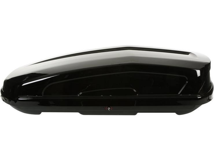 Halfords Advanced 470L Black Roof Box