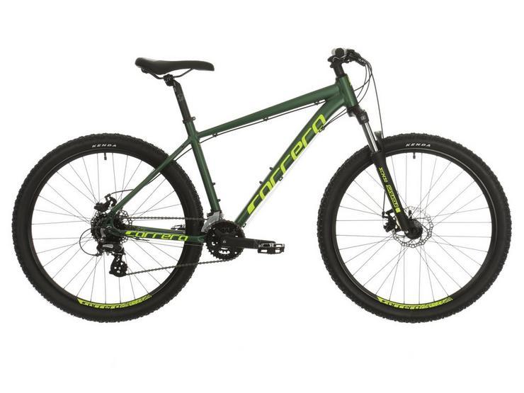 Carrera Vengeance Mens Mountain Bike 2020 - Green - XS, S, M, L, XL Frames