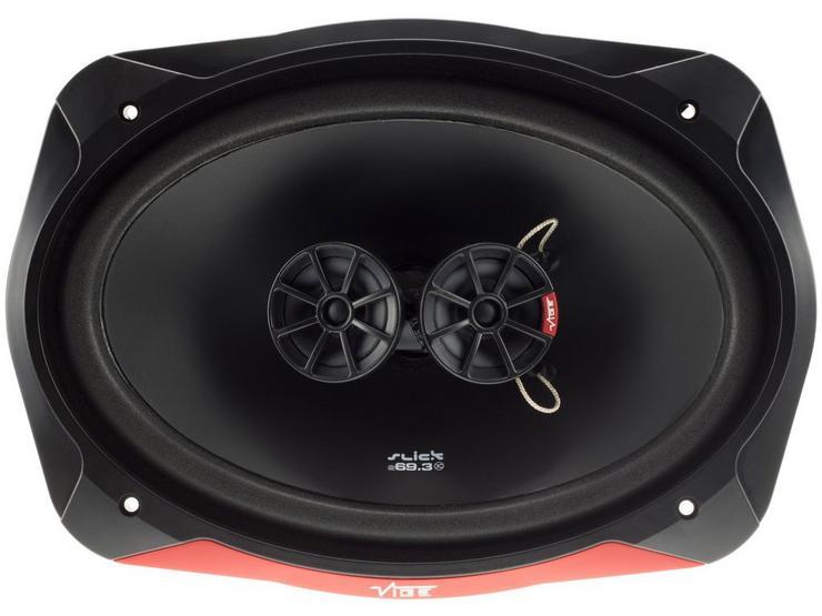 "Vibe Slick 6x9"" 3 Way Coaxial Car Speakers"
