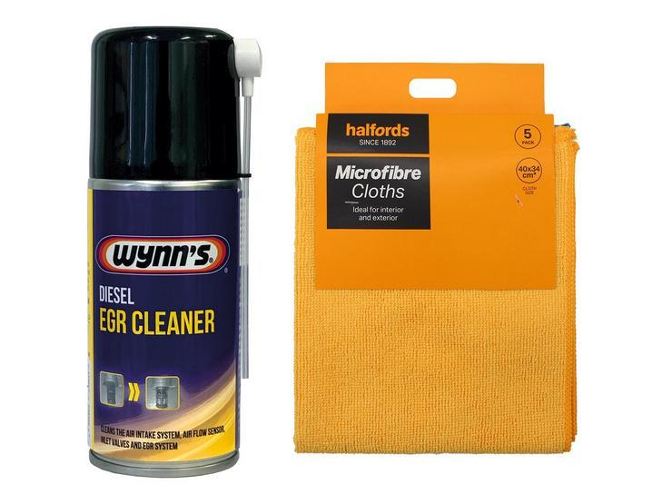 Wynns Diesel EGR Cleaner Bundle