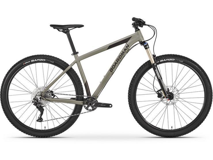 Boardman MHT 8.6 Mens Mountain Bike 2021 - Grey - S, M, L Frames