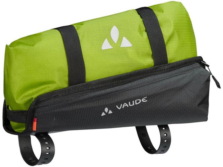 Vaude Trailguide Pannier - Black/Green