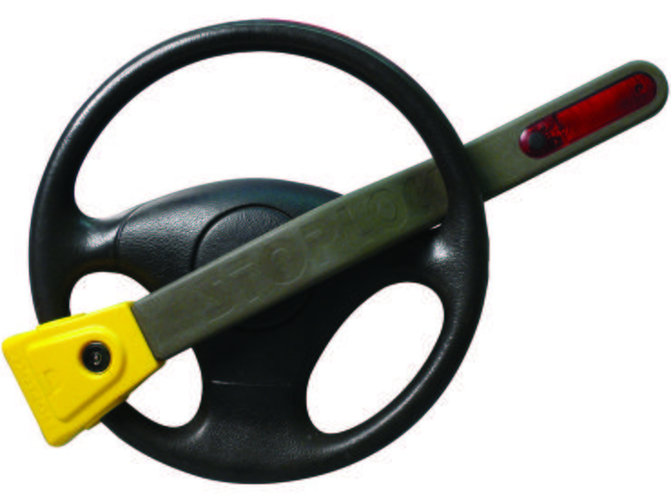 Stoplock Pulsar With Flashing Light Steering Wheel Lock