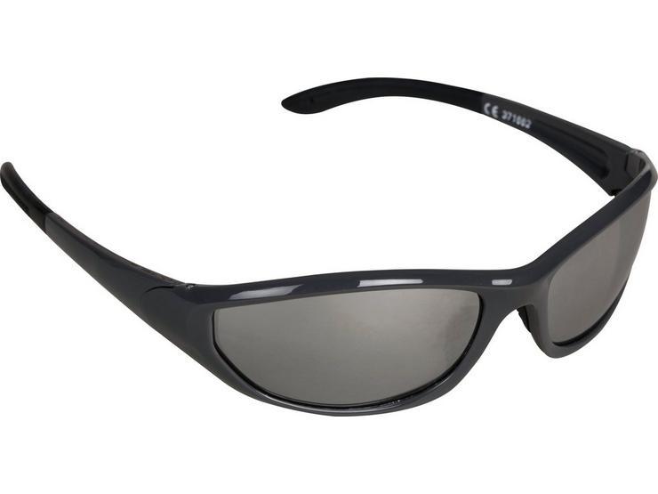 Halfords Full Frame Sunglasses - Silver
