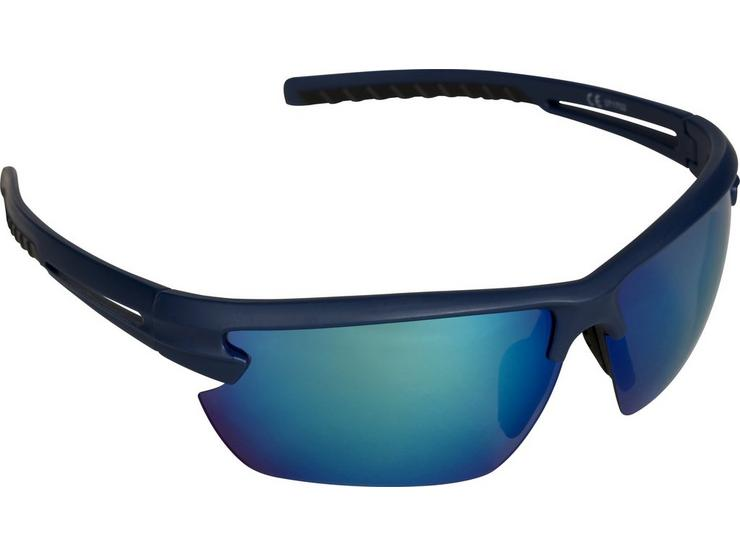 Halfords Full Wrap Around Sunglasses - Teal and Black