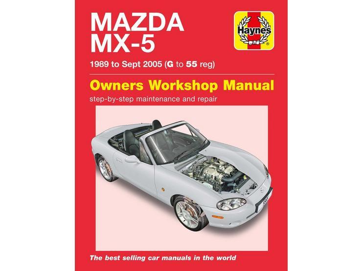 Haynes Mazda MX5 (1989-1995) G - 55 Manual