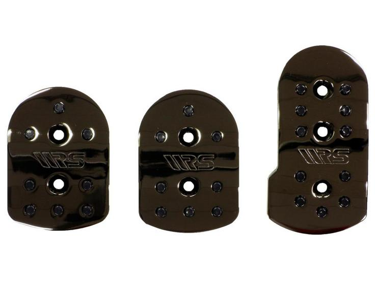 Ripspeed Competition Car Pedal Set - Black Chrome