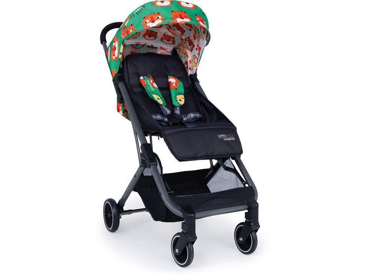 Cosatto UWU Compact City Stroller - Easy Tiger