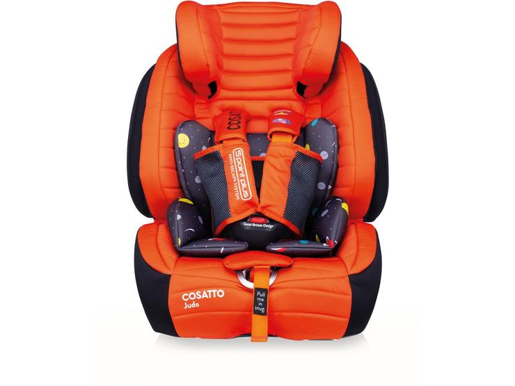 Cosatto Judo Group 1/2/3 Isofix Car Seat - Spaceman