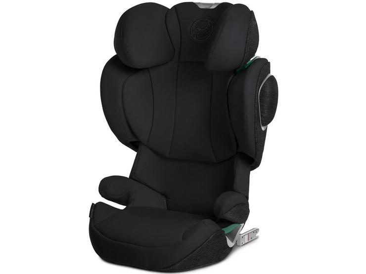 Cybex Solution Z i-Fix Group 2/3 Car Seat - Deep Black