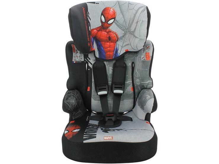 Marvel Beline SP Spiderman High Back Booster
