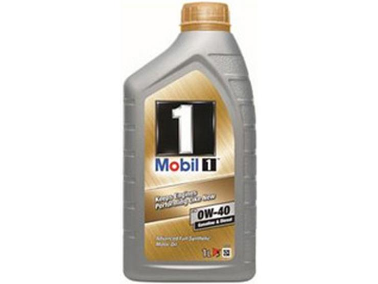 Mobil 1 Fully Synthetic 0W40 Engine Oil 1L