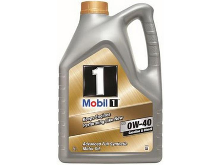 Mobil 1 Fully Synthetic 0W40 Engine Oil 5L