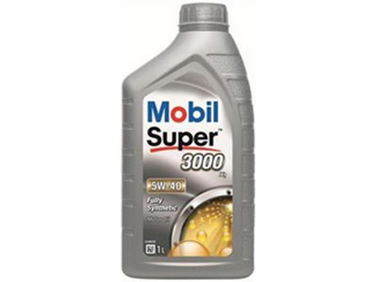 Mobil Super 3000 X1 5W40 Oil 1L