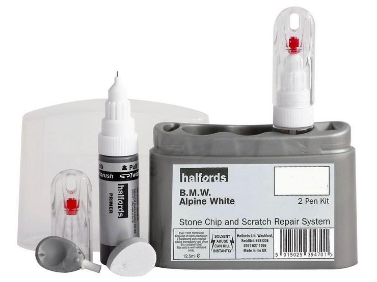 Halfords BMW Alpine White Scratch & Chip Repair Kit