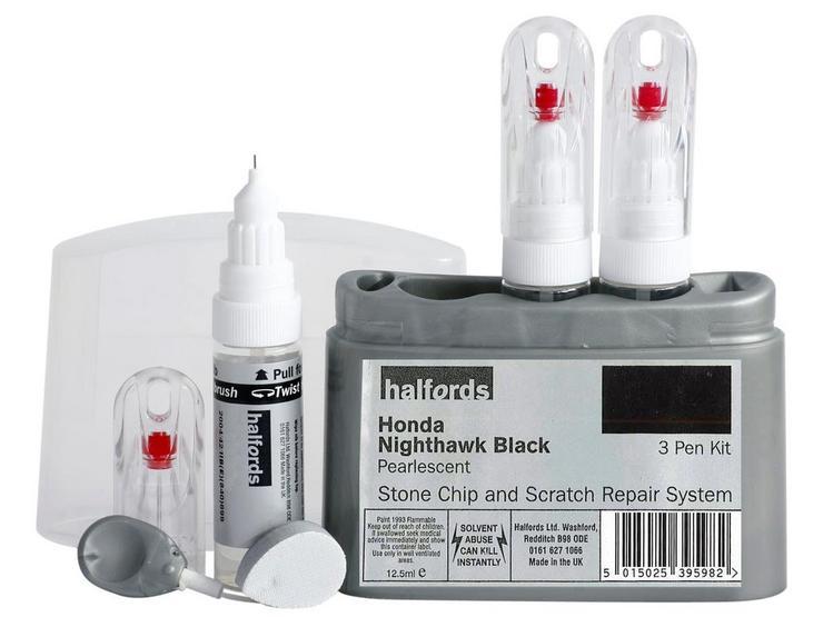 Halfords Honda Nighthawk Black Scratch & Chip Repair Kit