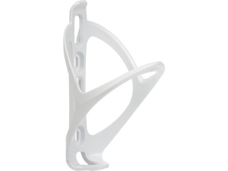 Halfords Plastic Bottle Cage - White