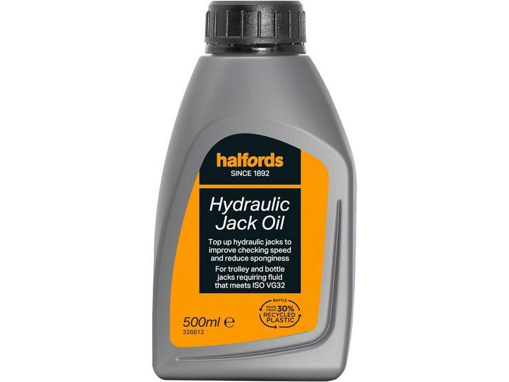 Halfords Hydraulic Jack Oil