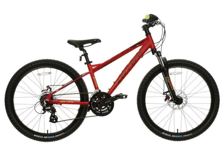 "Carrera Blast Junior Mountain Bike - 24"" Wheel"