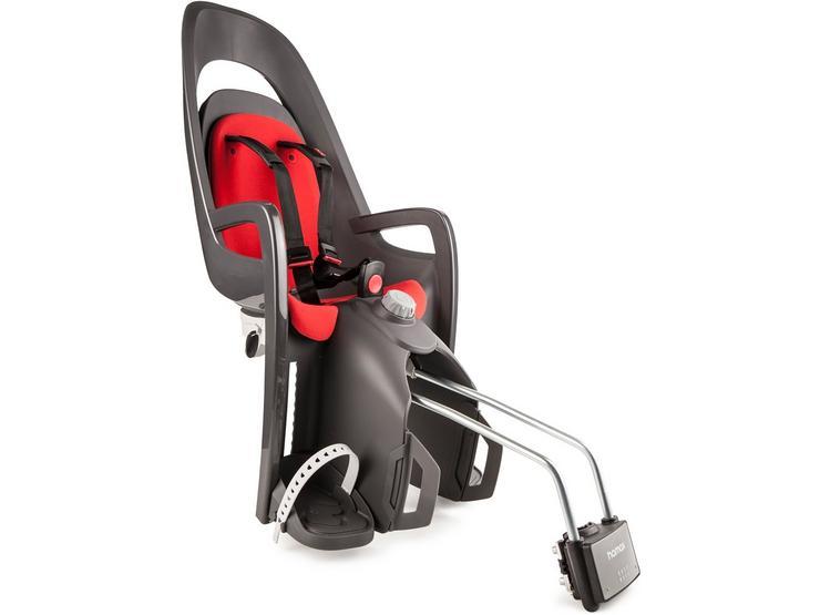 Hamax Caress Rear Frame Mount Child Seat - Black/Red