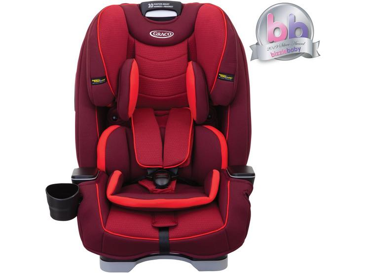 Graco Slimfit Group 0+1/2/3 Child Car Seat - Chilli