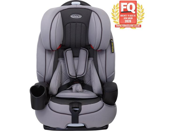 Graco Nautilus Group 1/2/3 Child Car Seat - Steeple Grey
