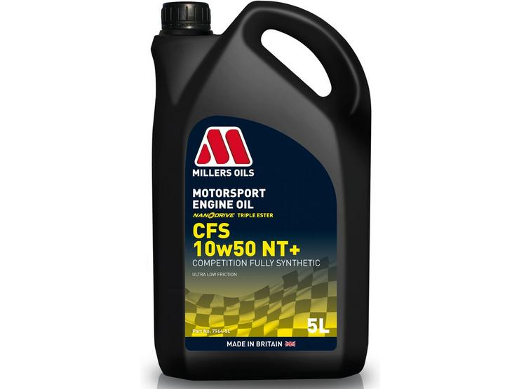 Millers Oils CFS 10W50 NT+ Motorsport Engine Oil - 5L