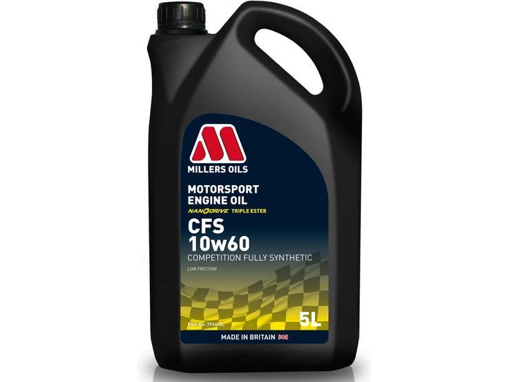 Millers Oils CFS 10W60 Motorsport Engine Oil - 5L