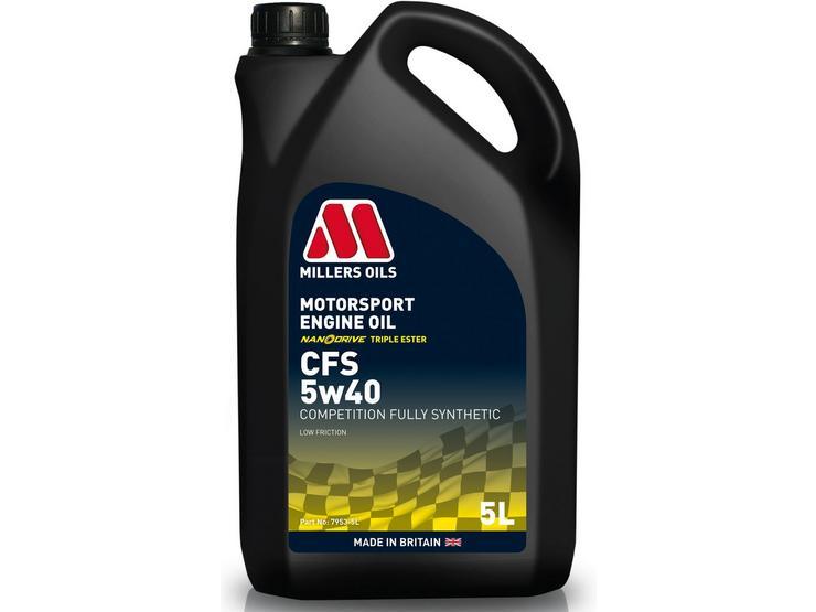 Millers Oils CFS 5W40 Motorsport Engine Oil - 5L