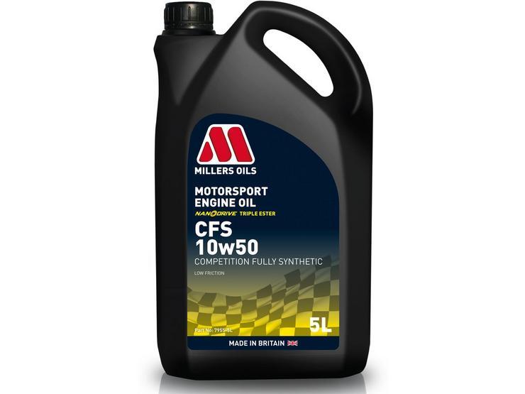 Millers Oils CFS 10W50 Motorsport Engine Oil - 5L