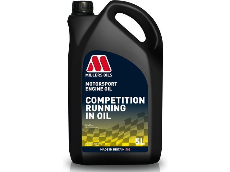 Millers Oils CRO 10W40 Motorsport Running In Oil - 5L