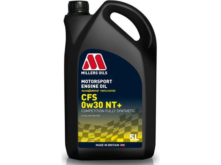 Millers Oils CFS 0W30 NT+ Motorsport Engine Oil - 5L