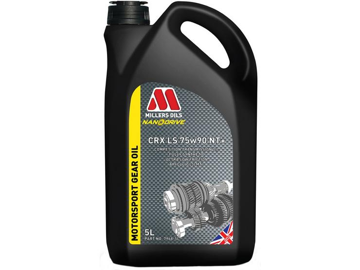 Millers Oils CRX LS 75W90 NT+ Motorsport Gear Oil - 5L